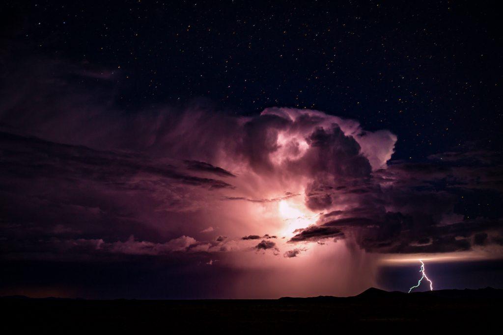 Storm At Night